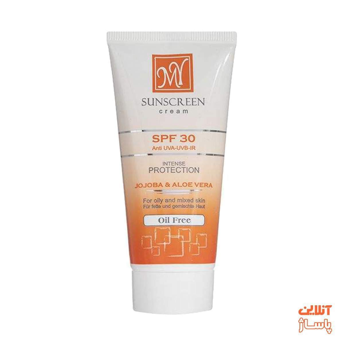 کرم ضد آفتاب فاقد چربی مای SPF30