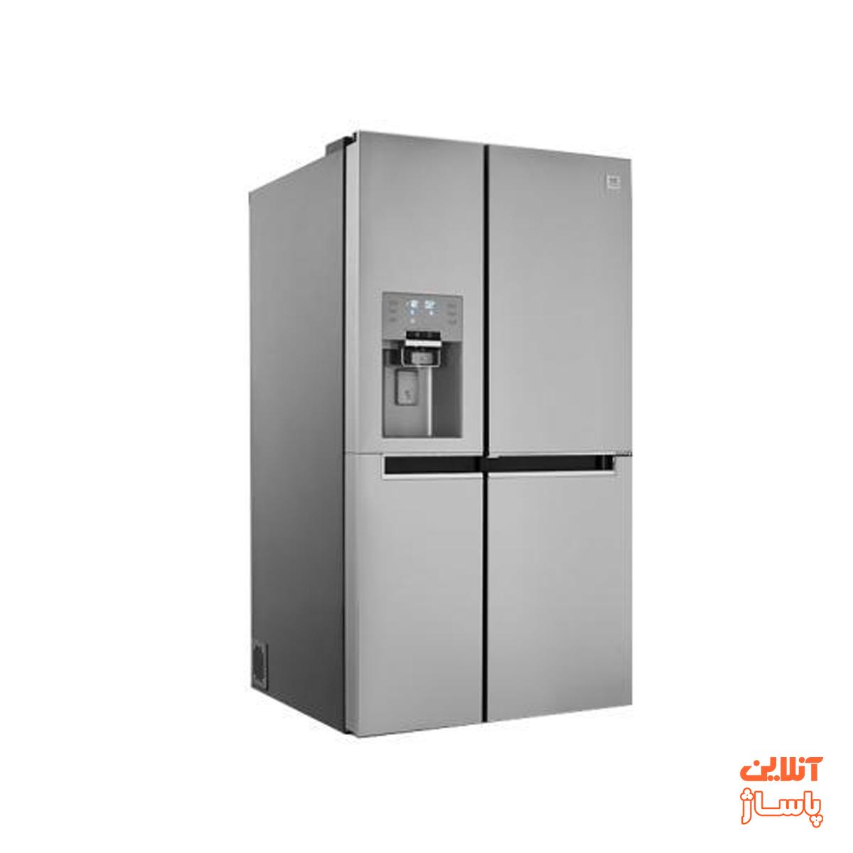 یخچال و فریزر ساید بای ساید دوو سری پرایم مدل D4S-0034SS سه درب
