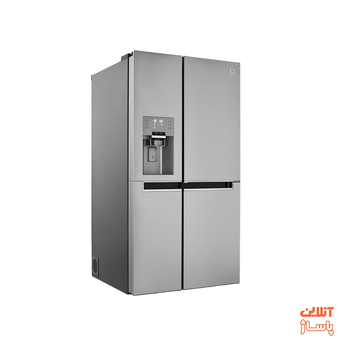 یخچال و فریزر ساید بای ساید دوو سری پرایم مدل D4S-0036MW سه درب