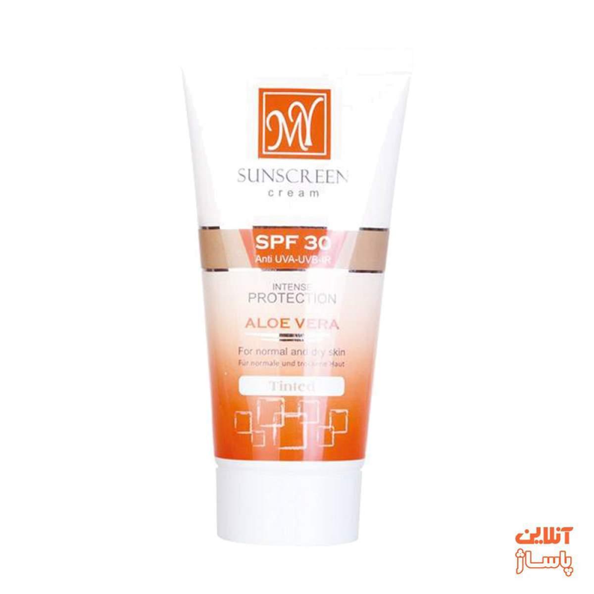 کرم ضد آفتاب رنگی مای SPF30