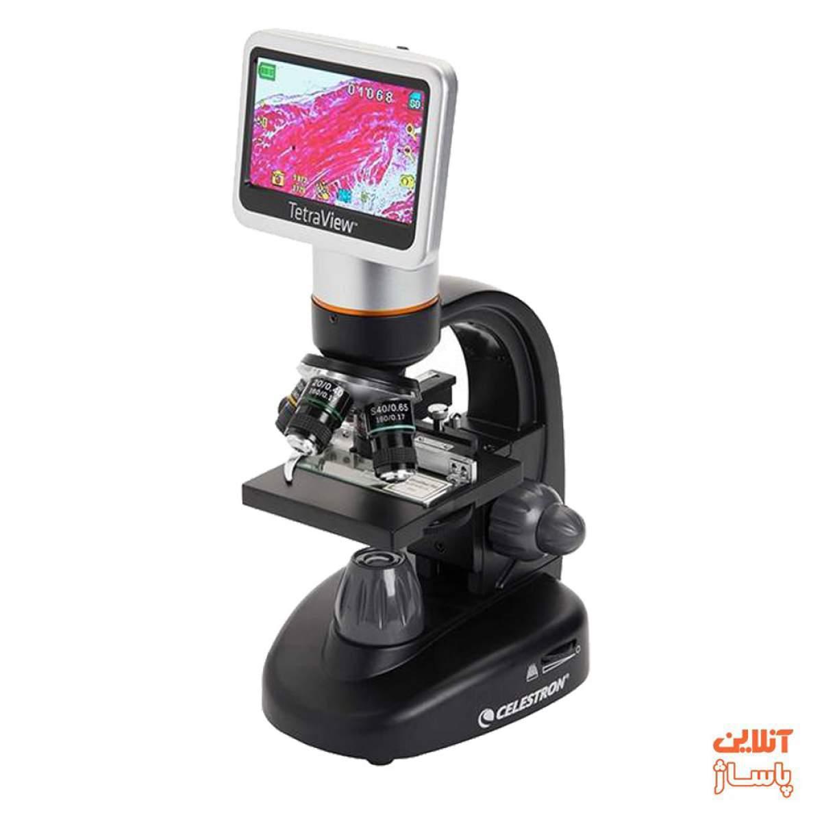میکروسکوپ دیجیتالی سلسترون مدل TetraView