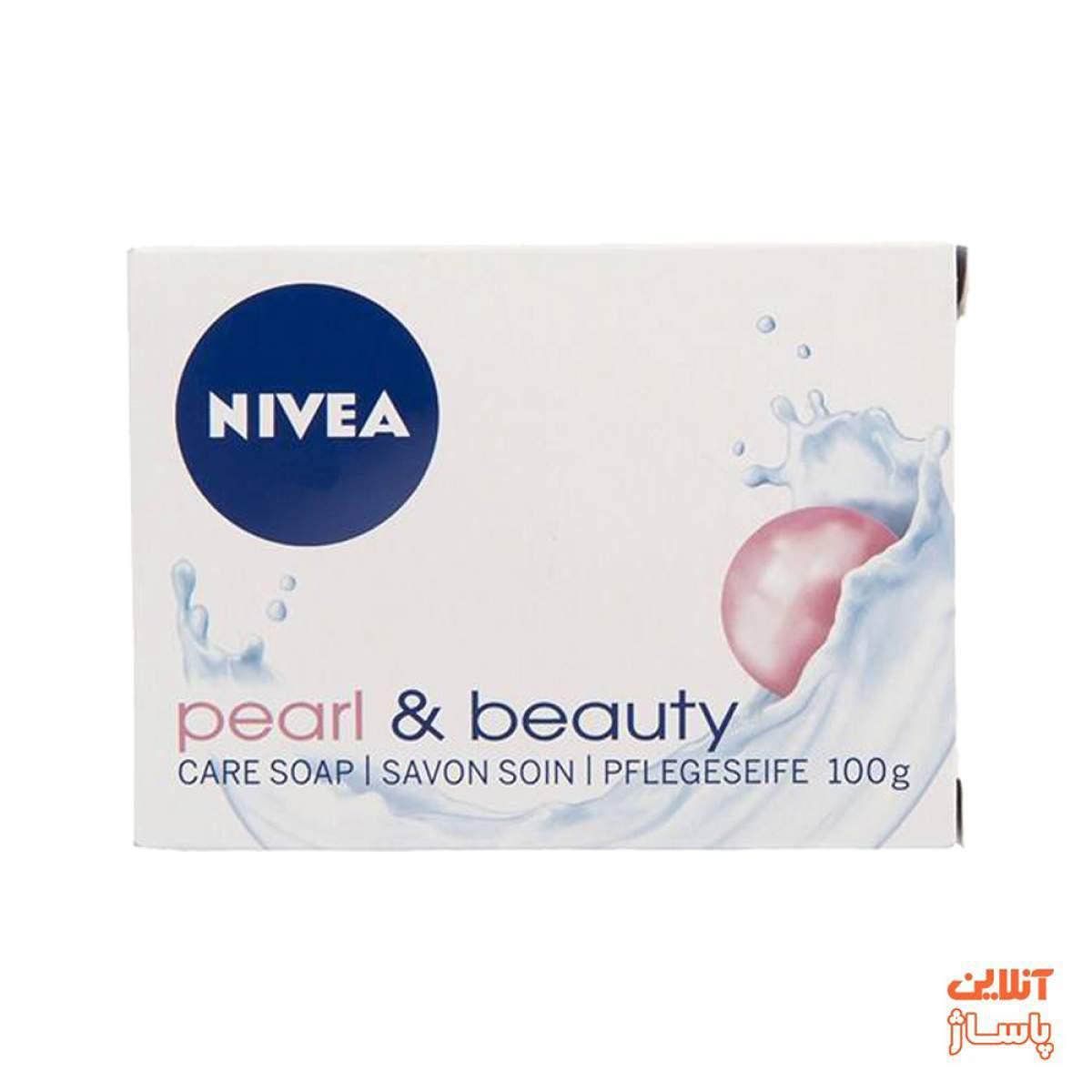 صابون زیبایی نیوآ مدل Pearl And Beauty مقدار 100 گرم