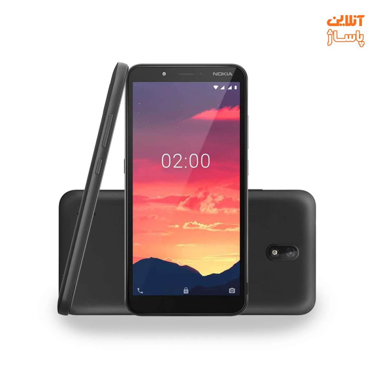 گوشی موبایل نوکیا مدل C2 دو سیم کارت ظرفیت 16 گیگابایت