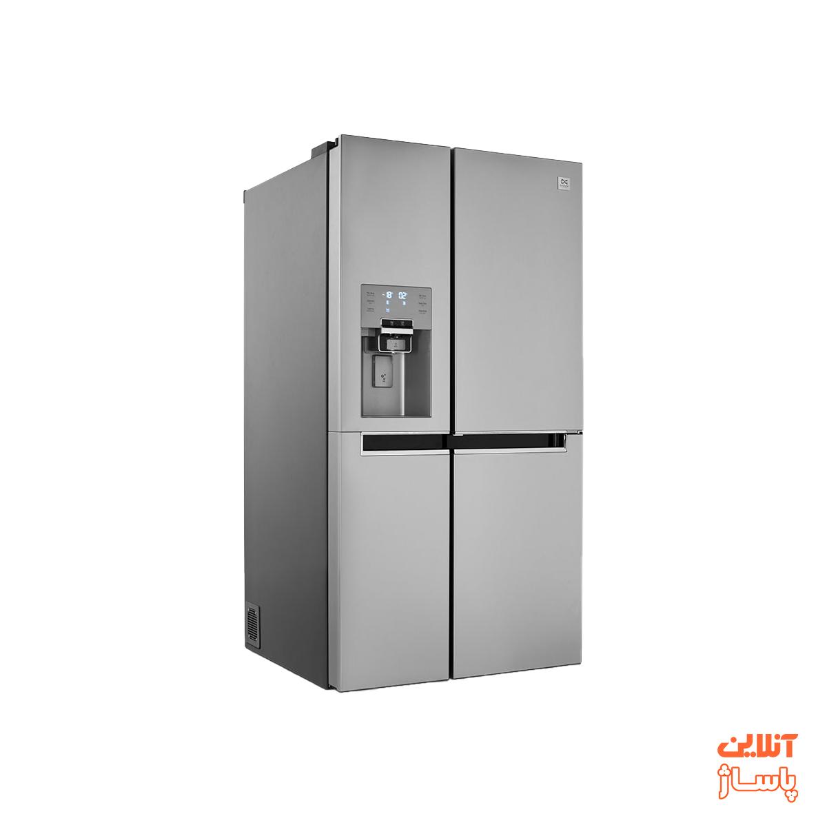 یخچال و فریزر ساید بای ساید دوو سری پرایم مدل D4S-0036SS سه درب