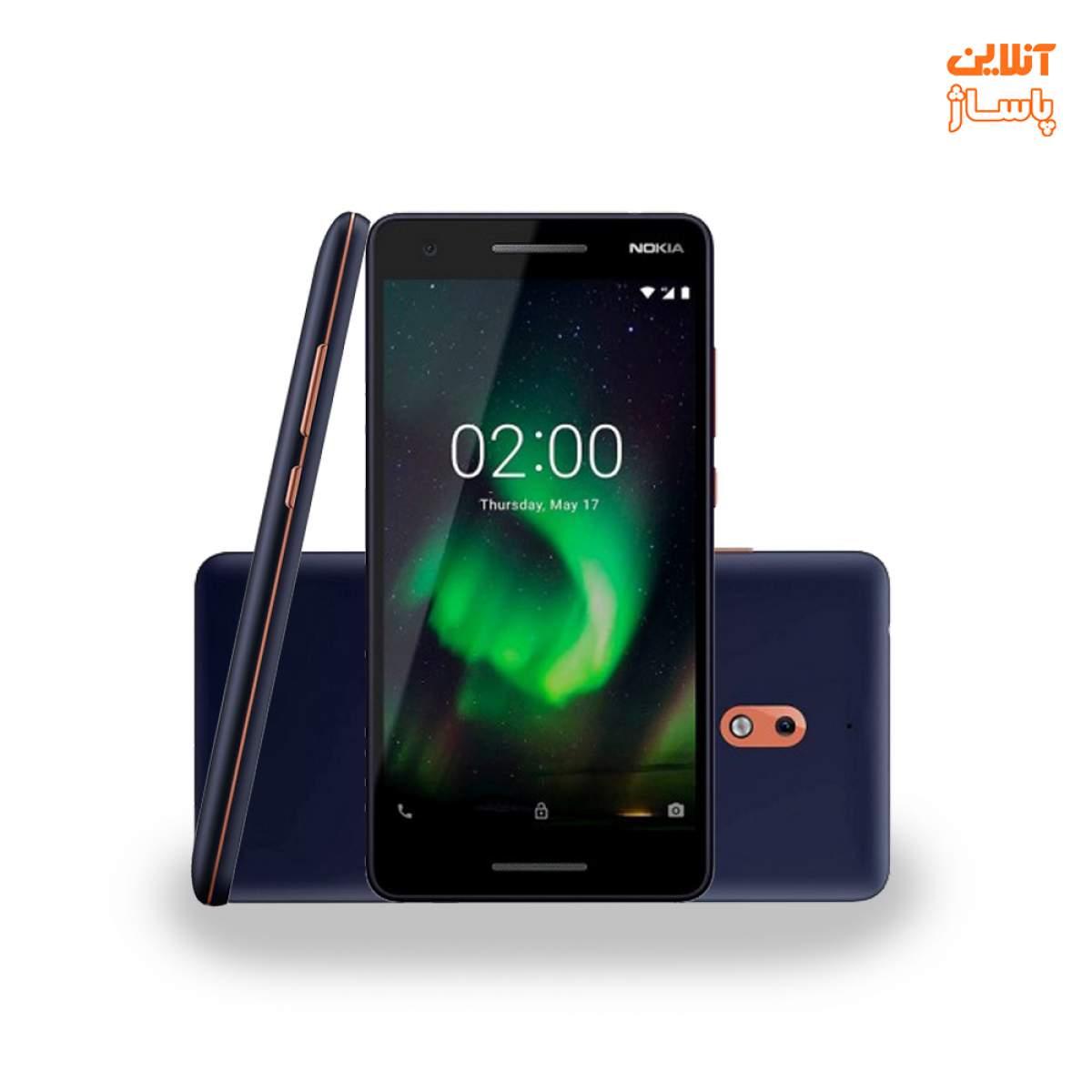 گوشی موبایل نوکیا مدل 2.1 دو سیم کارت ظرفیت 8 گیگابایت
