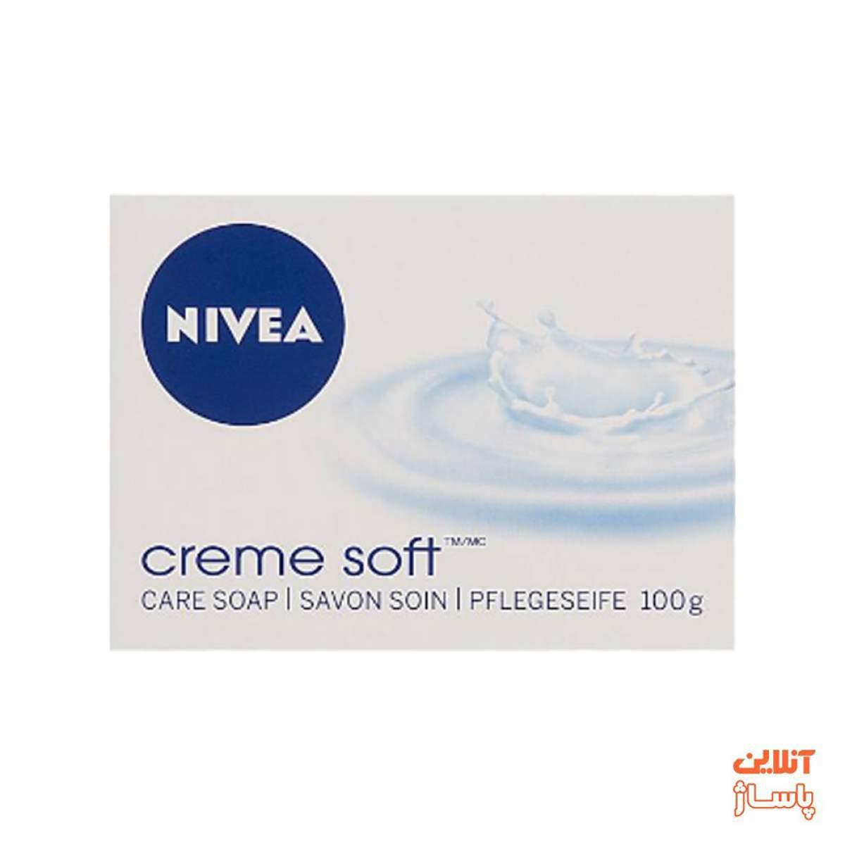 صابون زیبایی نیوآ مدل Cream Soft مقدار 100 گرم