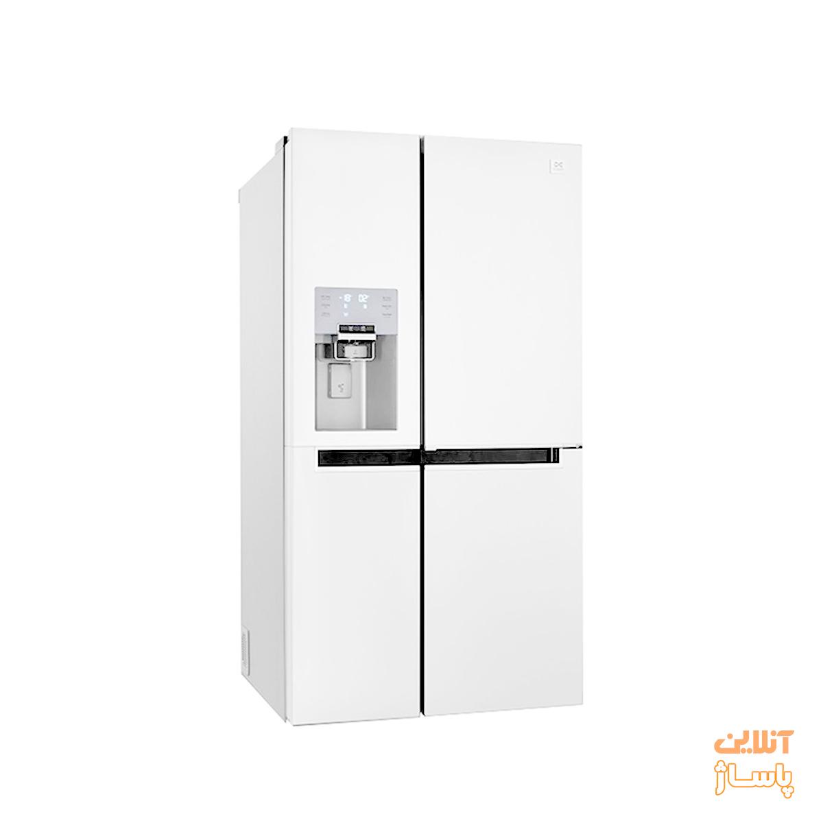یخچال و فریزر ساید بای ساید دوو سری پرایم مدل D4S-0034MW سه درب