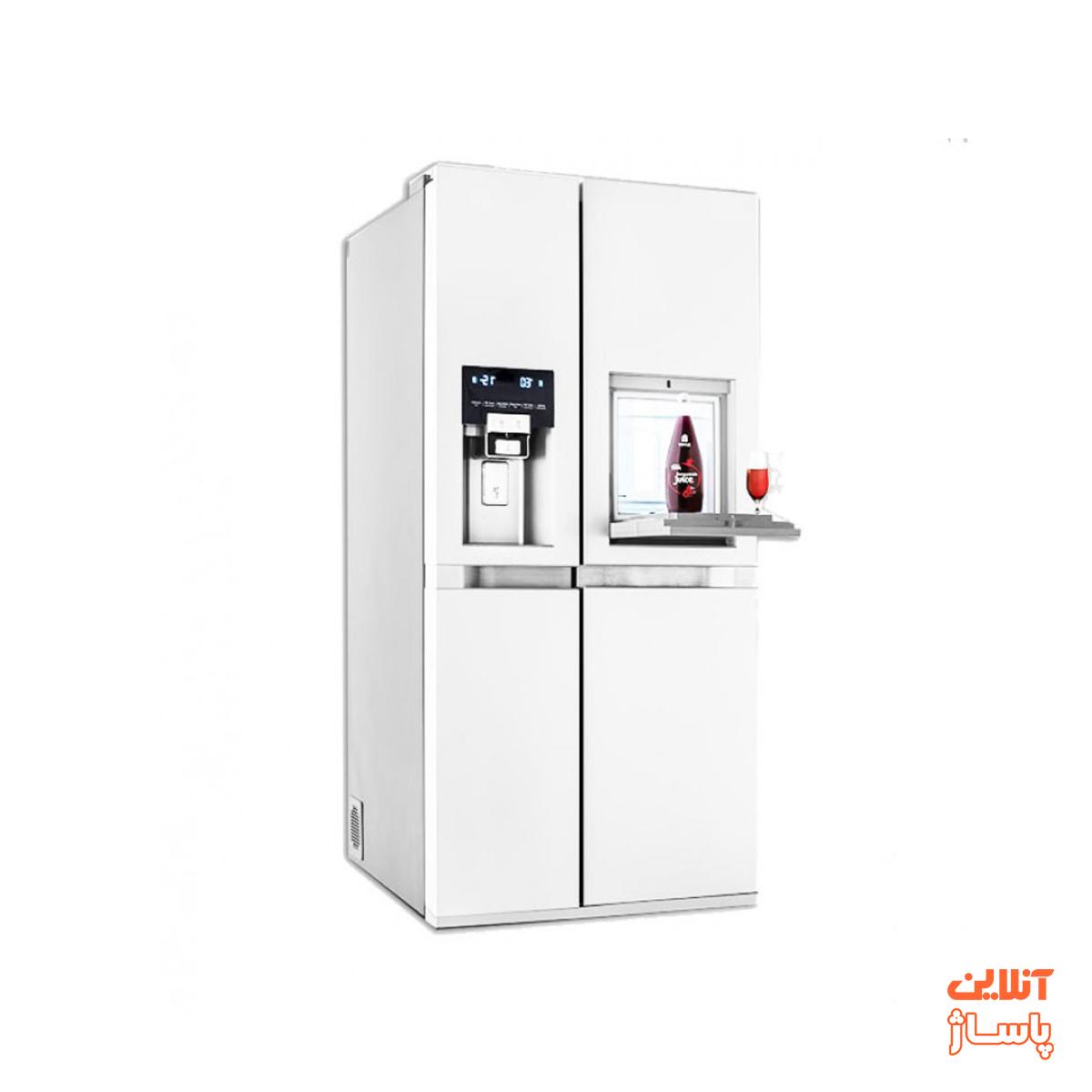 یخچال و فریزر ساید بای ساید دوو سری پرایم مدل D2S-1037MW  دو درب