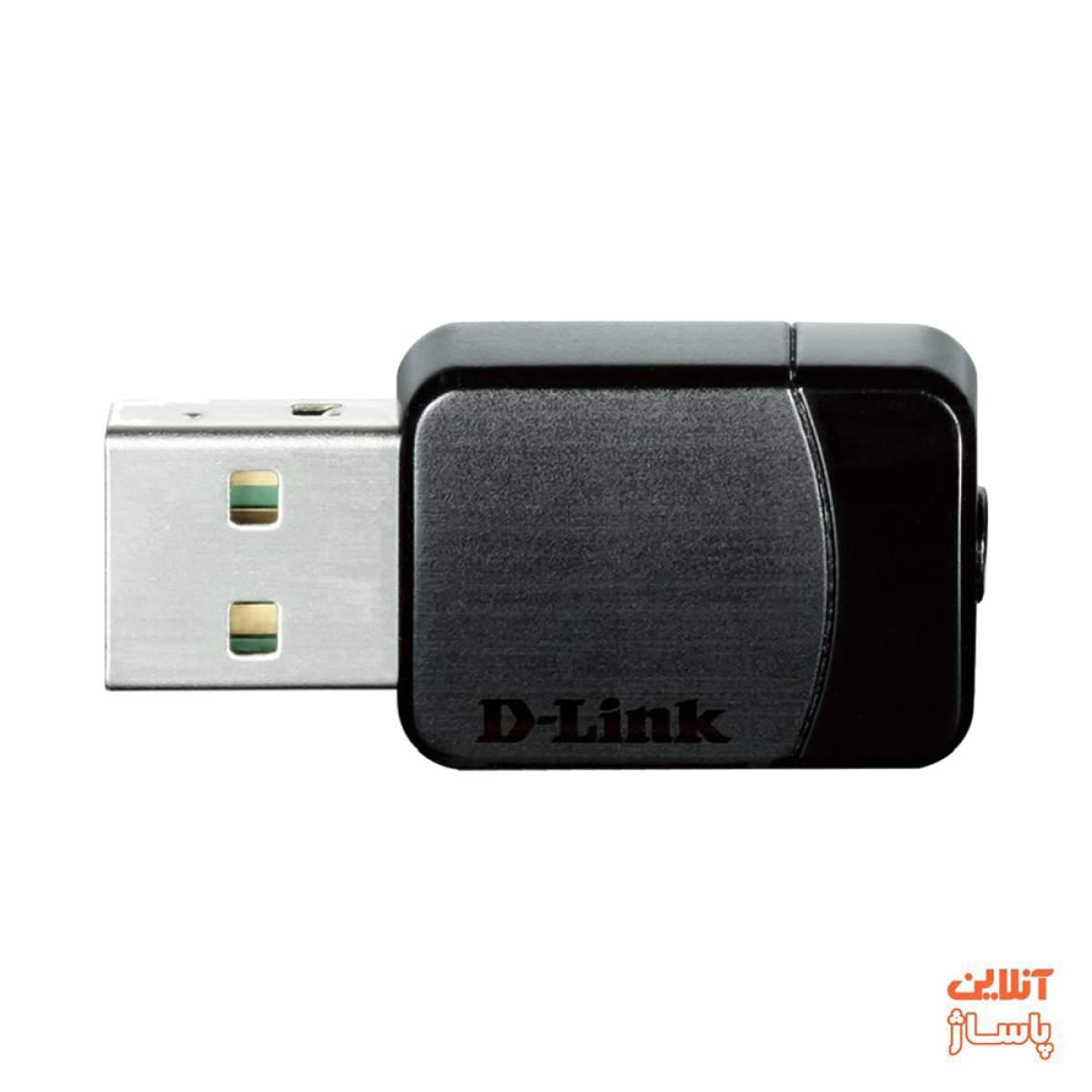 کارت شبکه USB بیسیم دی-لینک مدل DWA-171 AC Dual Band