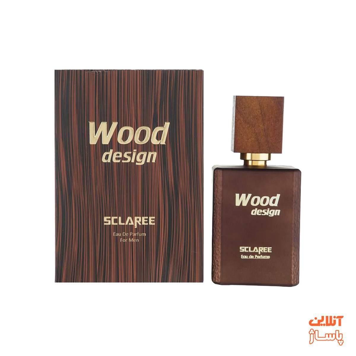 ادوپرفیوم مردانه اسکلاره مدل Wood Design حجم 100 میلی لیتر