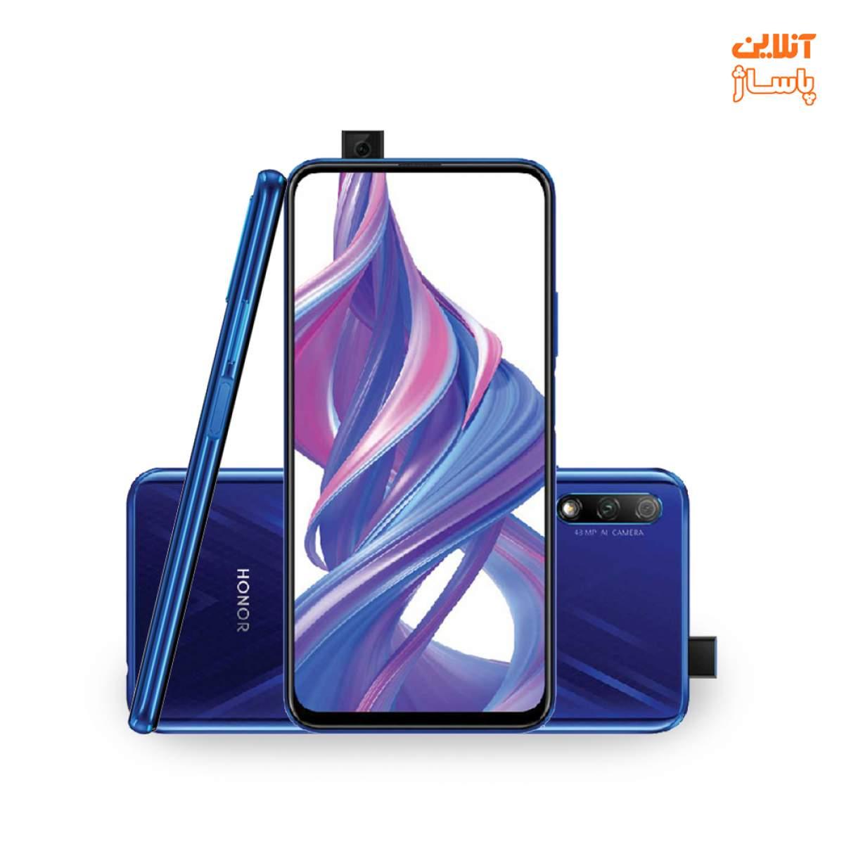 گوشی موبایل آنر مدل 9X دو سیم کارت ظرفیت 128 گیگابایت